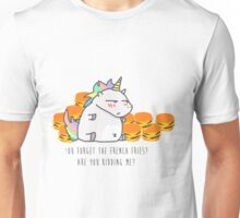 Unicorn burger Unisex T-Shirt