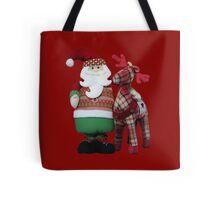 Santa loves Rudolf! Tote Bag