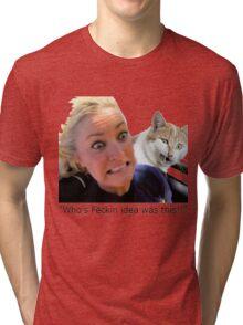 Git me out-a here Tri-blend T-Shirt