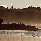 Un dimanche de novembre à la plage by Jean-Luc Rollier