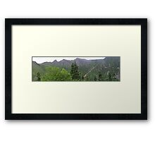 Tuckerman's Ravine Framed Print