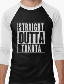 Straight Outta Takota Men's Baseball ¾ T-Shirt
