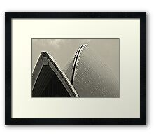 Sydney Opera House Sails Framed Print