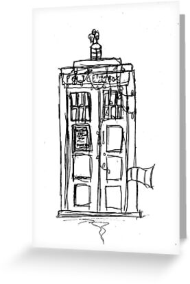 The Christmas TARDIS by IanPeriwinkle