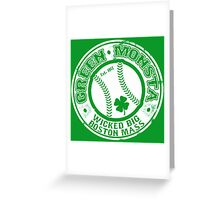 Boston Baseball Greeting Card