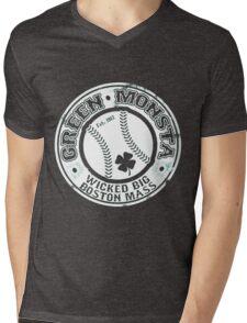 Boston Baseball Mens V-Neck T-Shirt