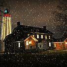 Fort Gratiot Light House for Viv by cherylc1