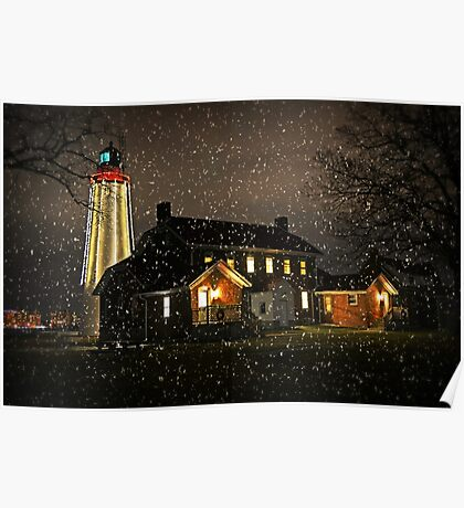 Fort Gratiot Light House for Viv Poster