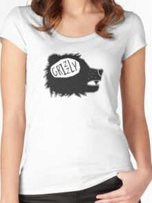 Grizzly  Women's Fitted Scoop T-Shirt