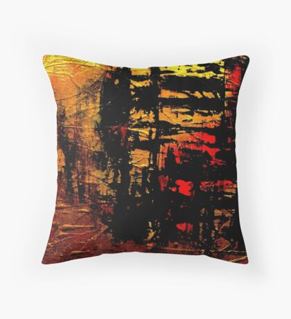 Cryptic Chaos Throw Pillow
