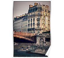 Left Bank, Paris, France Poster