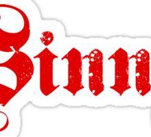 SINNER Sticker
