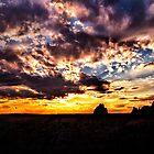 Sundown On the Badlands by Kathy Weaver