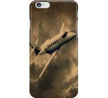 Jet Through The Clouds  iPhone Case/Skin