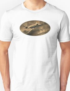 Jet Through The Clouds  T-Shirt