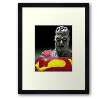 Bizarro Superman Framed Print