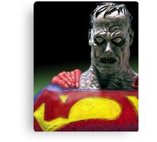 Bizarro Superman Canvas Print