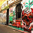 Back to Back Laneway Graff by -aimslo-