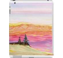 Evergreens Overlooking Quiet Canyon iPad Case/Skin
