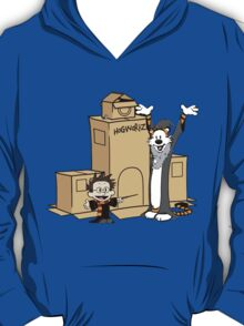 Calvin and Hobbes - Harry Potter T-Shirt