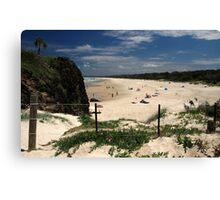 Dreamtime Beach Canvas Print