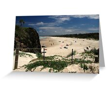 Dreamtime Beach Greeting Card
