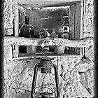 Old Lantern - Andamooka by Ginter