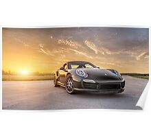 2015 Porsche 911 Turbo S Poster