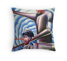 Shapeshifting Loners Throw Pillow