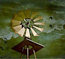 storms a'brewin by Scott Mitchell
