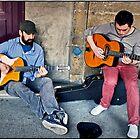 Gypsy Jazz Musicians, Paris. by Forrest Harrison Gerke