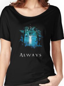 Snape's Patronus Women's Relaxed Fit T-Shirt
