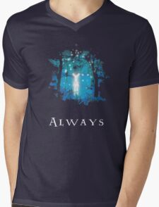 Snape's Patronus Mens V-Neck T-Shirt