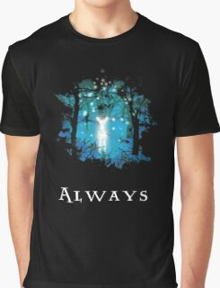 Snape's Patronus Graphic T-Shirt