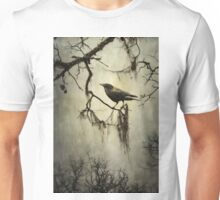 Winter Crow Unisex T-Shirt