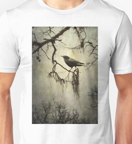 Winter Crow Unisex T-Shirt