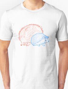 Hedgehogs & Echidnas Are Natural Enemies Unisex T-Shirt