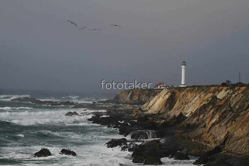 Point Arena Lighthouse by fototaker