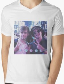 Luke and Mikey Moons Mens V-Neck T-Shirt