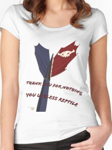 Toothless Tee Women's Fitted Scoop T-Shirt