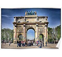 Arc de Triomphe, Paris. Poster