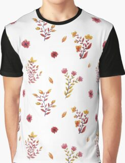flowers watercolor  Graphic T-Shirt