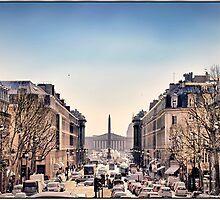 Place de la Concorde, Paris. by Forrest Harrison Gerke