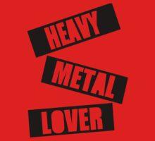 Heavy Metal Lover (Stamp Design) by Splendini