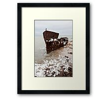 Laying at Rest Framed Print