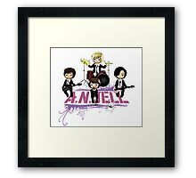 A.N.JELL (You're beautiful) Framed Print
