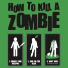 How to Kill a Zombie by Emilyne
