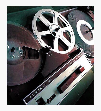 Admiral Tape Recorder Photographic Print
