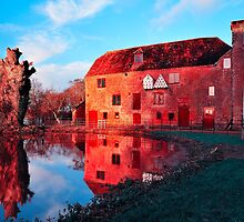 White Mill On The River Stour by delros