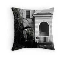 Dark Arches Throw Pillow